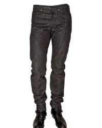 Dior Homme   Black 19cm Brut Denim Jeans for Men   Lyst