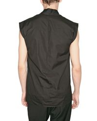 Dior Homme - Black Light Cotton Poplin Shirt for Men - Lyst
