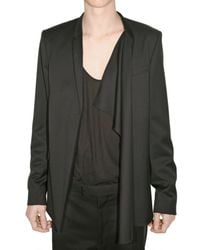 Dior Homme - Black Light Weight Wool and Cashmere Jacket for Men - Lyst