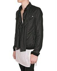 Dior Homme | Black Parachute Cotton Jacket for Men | Lyst