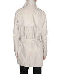 Dior Homme - Natural Light Cotton Canvas Coat for Men - Lyst