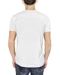 Dolce & Gabbana | White Marlon Brando Jersey T-shirt for Men | Lyst
