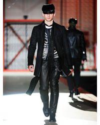 DSquared² | Black Destroyed Knit Sweater for Men | Lyst