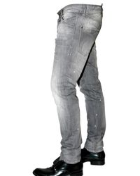 DSquared² - Gray Cool Guy Stretch Comfort Denim Jeans for Men - Lyst