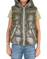 Duvetica | Green Aristeo Shiny Nylon Vest Sport Jacket for Men | Lyst