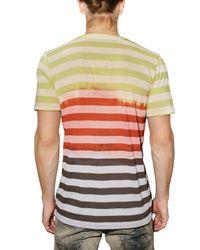 John Galliano | Gazzette Multicolor Jersey T-shirt for Men | Lyst