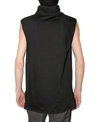 Kris Van Assche   Black Turtleneck Jersey Vest for Men   Lyst