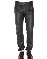 Marc Jacobs | Black 19cm Coated Denim Regular Fit Jeans for Men | Lyst