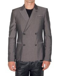 Marc Jacobs | Gray Makimura Cotton Viscose Jacket for Men | Lyst