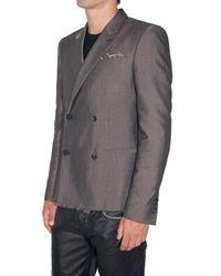 Marc Jacobs - Gray Makimura Cotton Viscose Jacket for Men - Lyst