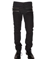 Marc Jacobs | Black Side Zip Denim Jeans for Men | Lyst