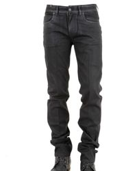 Notify | Black Slim Waxed Denim Jeans for Men | Lyst
