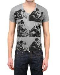Pleasure Principle | Gray Biker Sex Print Jersey T-shirt for Men | Lyst
