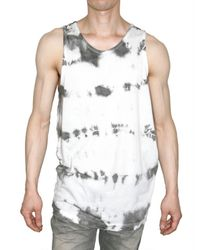 Pleasure Principle | White Cotton Jersey and Chiffon Tank Top for Men | Lyst