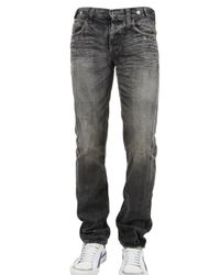 PRPS | Gray Grey Slim Wrinkled Denim Jeans for Men | Lyst