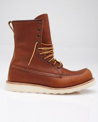 Red Wing | Brown 8 Inch Classic Moc for Men | Lyst