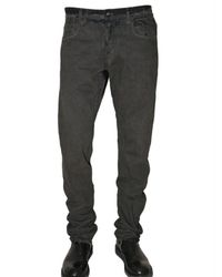 Rick Owens | Black Regular Fit Washed Denim Jeans for Men | Lyst