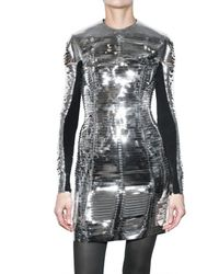 Gareth Pugh | Metallic Slit Pvc Dress | Lyst