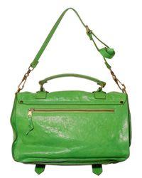Proenza Schouler | Green Ps1 Medium Lux Lamb Shoulder Bag | Lyst