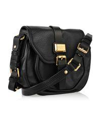 Marc By Marc Jacobs - Black Saddlery Cadet Leather Crossbody Bag - Lyst