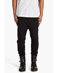 Acne | Black John Lounge Pants for Men | Lyst