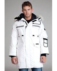 Canada Goose | Resolute White Parka for Men | Lyst