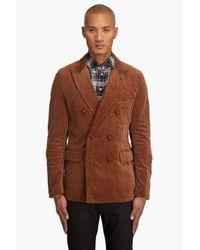 Comme des Garçons | Brown Corduroy Blazer for Men | Lyst