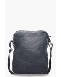 DIESEL Blue Taurus Bag for men
