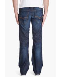 DIESEL - Blue Zatiny 73n Boot-cut Jeans for Men - Lyst