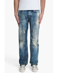 DIESEL | Blue Viker-r-box 8n1 Jeans for Men | Lyst