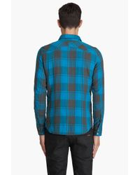 DIESEL - Blue Solor Shirt for Men - Lyst
