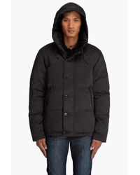 Filippa K - Black City Down Jacket for Men - Lyst