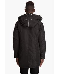 Filippa K | Black Padded Parka for Men | Lyst