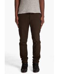 Filippa K | Brown Samuel Heavy Cotton Chinos for Men | Lyst