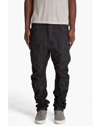 G-Star RAW | Brown Savile Loose Tapered Chinos for Men | Lyst