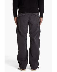 G-Star RAW - Black Rovic Loose Cargo Pants for Men - Lyst