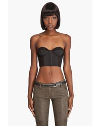 Ksubi | Black Powermesh Bustier | Lyst