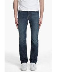 7 For All Mankind | Blue Slimmy New York Dark Jeans for Men | Lyst