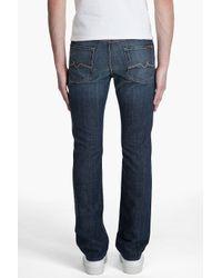 7 For All Mankind - Blue Slimmy New York Dark Jeans for Men - Lyst