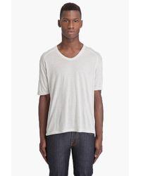 T By Alexander Wang - Natural Tencel Wool Raglan T-shirt for Men - Lyst