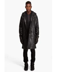 Tim Hamilton - Black Hooded Coat for Men - Lyst