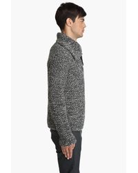 Yigal Azrouël | Gray Knit Pullover for Men | Lyst