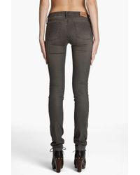 Acne Studios Green Kex Grind Jeans
