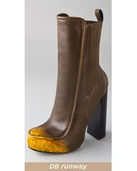 Alexander Wang Brown Addison Leather Boots
