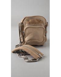 Alexander Wang | Natural Mini Brenda Camera Bag | Lyst