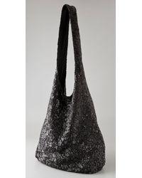 Alice + Olivia - Metallic Sequin Hobo Bag - Lyst