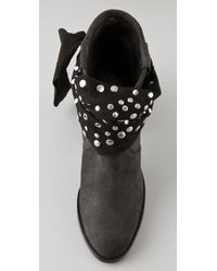 Antik Batik Black Hakney Suede Ankle Boots