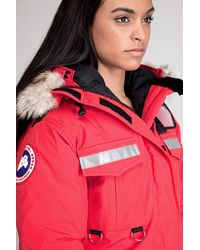 Canada Goose Resolute Red Parka