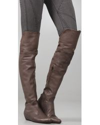 Coclico - Brown Damona Over The Knee Boots - Lyst