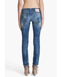 DIESEL Blue Zivy 8j2 Jeans